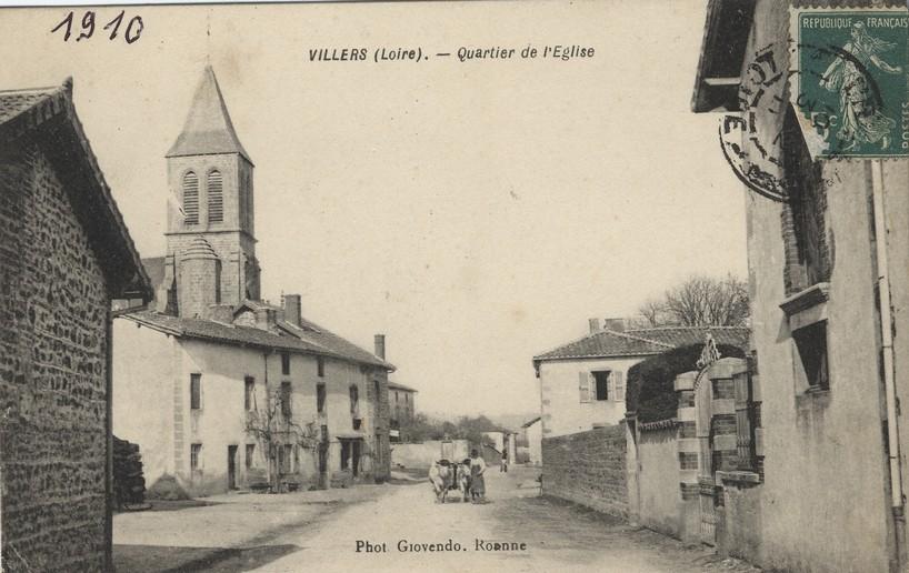 DL029-le bourg 1910