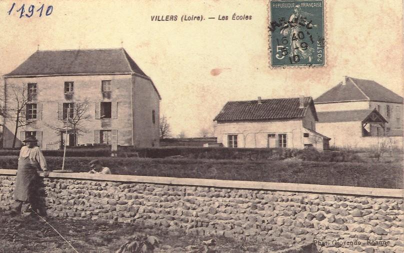 DL033-maison villeret, mairie 1910