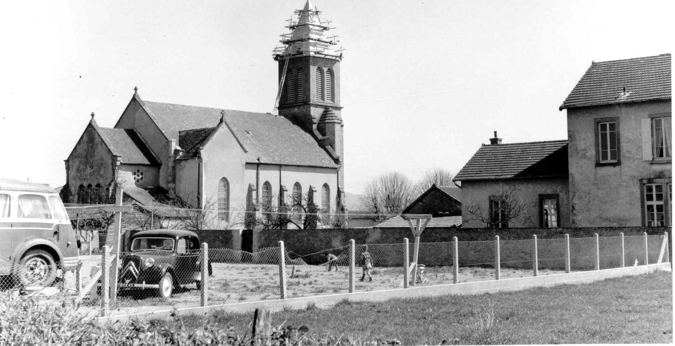 EG007-1968 - Réfection du clocher - Villers