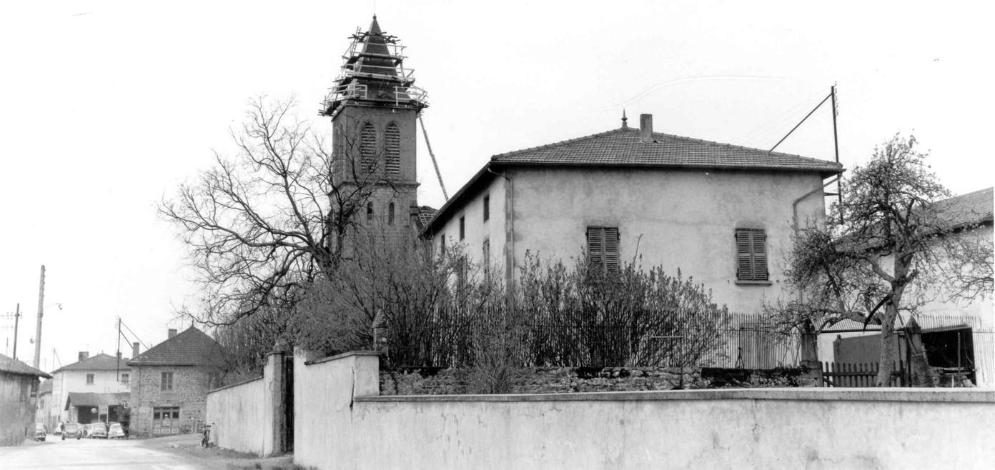 EG008-1968 - Réfection du clocher de Villers